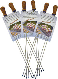 Original Super Skewer BBQ Skewers - 3 2-packs